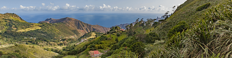 View of St Helena Island